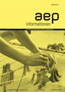 Zeitschriftcover aep informationen 2016-1