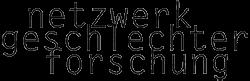 Netzwerk Geschlechterforschung Logo